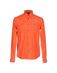 Aeronautica Militare Shirts Orange