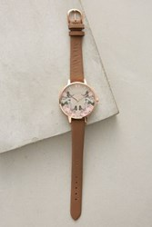 Anthropologie Butterfly Grove Watch Copper