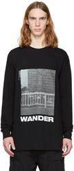 Song For The Mute Black Wander Tower Sweatshirt