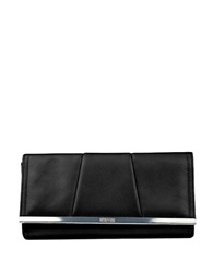 Kenneth Cole Reaction Barcelona Flap Clutch Wallet Black