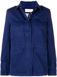 Closed Utility Jacket Blue