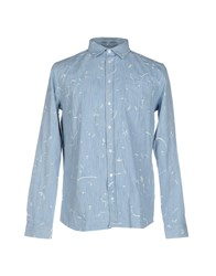 Libertine Libertine Denim Shirts Blue
