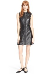 Women's Marc By Marc Jacobs Zip Front Sleeveless Mini Dress