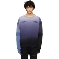 Ambush Blue New Patchwork Sweatshirt