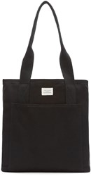 Rag And Bone Black Canvas Standard Tote Bag