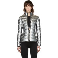 Paco Rabanne Silver Down Bodyline Jacket