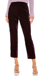 House Of Harlow 1960 X Revolve Kate Pant In Wine.