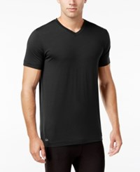 Lacoste Men's V Neck Sleep T Shirt Black