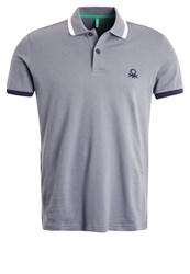 United Colors Of Benetton Polo Shirt Dunkelgrau Anthracite