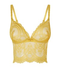 Wacoal Lace Bralette Female Yellow