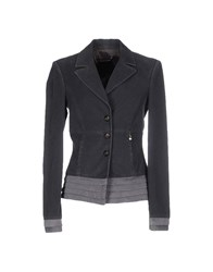 Roberta Scarpa Suits And Jackets Blazers Women Steel Grey