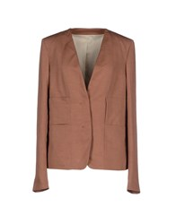Christophe Lemaire Lemaire Suits And Jackets Blazers Women Skin Color