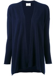 Allude Open Cardigan Blue