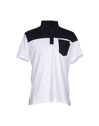 Bikkembergs Topwear Polo Shirts Men White