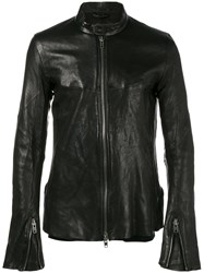 The Viridi Anne Zipped Jacket Black