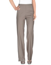 Pt01 Trousers Casual Trousers Women Light Grey