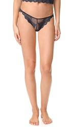 Only Hearts Club So Fine Lace Thong Midnight