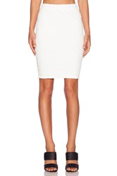 Sanctuary Pencil Midi Skirt White