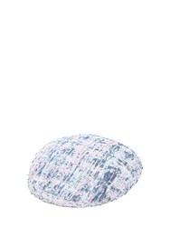 Eugenia Kim Cher Boucle Hat White Blue Pink