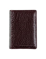 Brunello Cucinelli Wallets Dark Brown