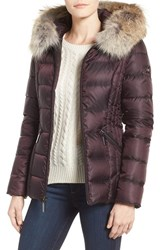 Dawn Levy Women's Genuine Coyote Fur Trim Down Parka