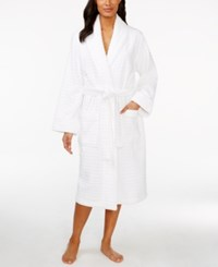 Charter Club Plush Textured Robe Only At Macy's