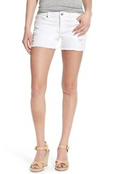 Women's Two By Vince Camuto Distressed Stretch Denim Cutoff Shorts