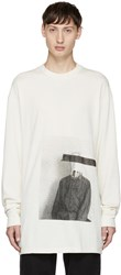 Song For The Mute Off White Long Sleeve Bag Head T Shirt