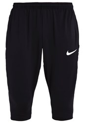 Nike Performance 3 4 Sports Trousers Noir Blanc Black