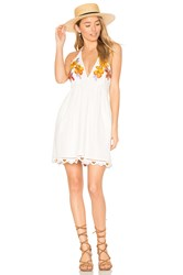 Free People Love And Flowers Dress White