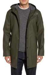 Uggr Men's Ugg Hooded Raincoat Olive