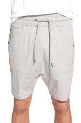 Thing Thing 'The Para' Drop Crotch Shorts Gray
