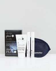 This Works Limited Edition Sleep Plus Body Treatments Kit Sleep Plus Clear