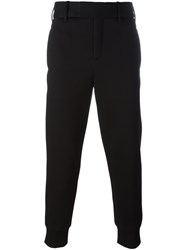 Neil Barrett Cuffed Trousers Black