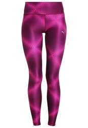 Puma All Eyes On Me Tights Periscope Pink Glo Berry