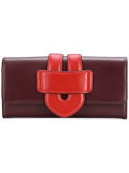 Tila March Zelig Continental Wallet Red