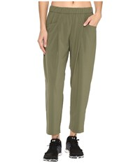 Lucy Rogue Trousers Rich Olive Women's Casual Pants Metallic
