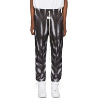 Nike Black And White Fear Of God Edition Aop Lounge Pants 010 Blacksa