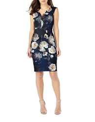 Phase Eight Camilla Rose Floral Dress Blue
