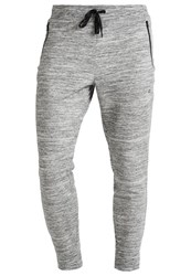 Gap Elements Tracksuit Bottoms Space Dye Grey Mottled Grey