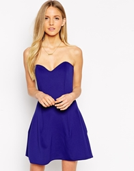 Boulee Ivy Strapless Dress Midnight