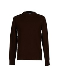 C.P. Company Knitwear Jumpers Men Dark Brown