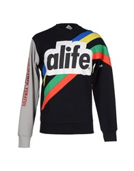 Alife Topwear Sweatshirts Men Black