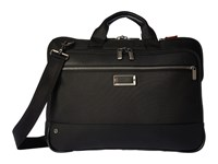 Briggs And Riley Work Slim Brief Black Briefcase Bags