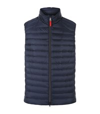 Bogner Quilted Down Gilet Male Navy