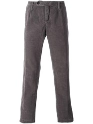 Massimo Alba Corduroy Trousers Grey