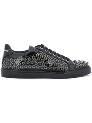 Philipp Plein Valley Sneakers Men Calf Leather Leather Foam Rubber Rubber 43 Metallic