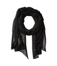 Betsey Johnson Blue By Betsey Love Liquid Mesh Wrap Black Scarves