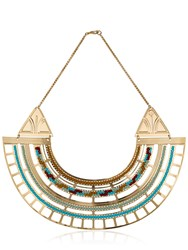 Camille Enrico Thebes Brass Necklace