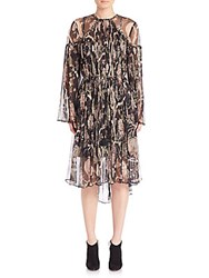 Zimmermann Lavish Braid Dress White Multi